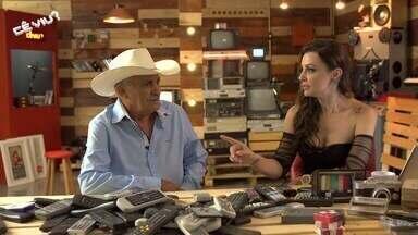 Cecília Ribeiro entrevista Mauro Imóveis - Ele é cantor e compositor; Hit 'Balança Araguari' é um dos destaques do mineiro