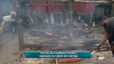 Festival do Churrasco movimenta fim de semana na capital - Festival Churrasco Curitiba vai até domingo, no Jockey Club do Paraná.