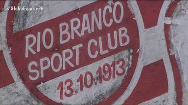 Rio Branco-PR encara a final da primeira taça no Paranaense - Duelo contra o Coritiba é considerado o jogo mais importante do clube centenário