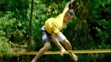 Conheça melhor o waterline, esporte radical que tem brasileiro entre os destaques - Conheça melhor o waterline, esporte radical que tem brasileiro entre os destaques