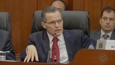 Ex-governador Silval Barbosa fala à CPI do Paletó e dá detalhes sobre pagamento de propin - Ex-governador Silval Barbosa fala à CPI do Paletó e dá detalhes sobre pagamento de propina a deputados