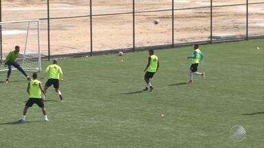 Vitória da Conquista enfrenta o Bahia de Feira neste sábado (24), pelo Campeonato Baiano - O objetivo do time é a classificação para continuar na competição.