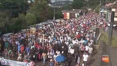 Mais de 40 mil fiéis se preparam para Romaria a Frei Bruno em Joaçaba - Mais de 40 mil fiéis se preparam para Romaria a Frei Bruno em Joaçaba