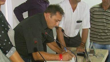 Vice assume a prefeitura após cassação de prefeita de São Tomé das Letras (MG) - Vice assume a prefeitura após cassação de prefeita de São Tomé das Letras (MG)