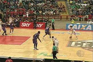 Mogi Basquete perde para o Basquete Cearense - Partida foi a primeira da série de jogos fora de casa.