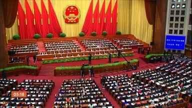 Partido Comunista chinês quer acabar com limite de mandatos para o cargo de presidente - Para que isso seja feito, o Partido Comunista precisa tirar a cláusula da constituição que define o limite de dois mandatos.
