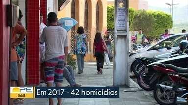 Cupira, no Agreste de Pernambuco, lança programa para tentar reduzir índices de violência - Ideia é acompanhar os jovens e adolescentes.