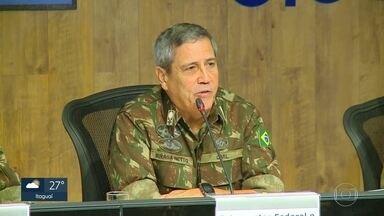 Interventor da Segurança anuncia estrutura do novo gabinete - General Braga Netto disse não ter informações sobre valores que serão destinados a segurança do estado