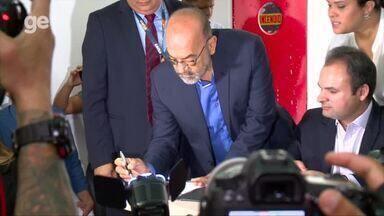 FFP e Caixa assinam contrato de publicidade para o Campeonato Piauiense 2018 - FFP e Caixa assinam contrato de publicidade para o Campeonato Piauiense 2018