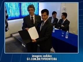 Novo delegado da Polícia Federal toma posse em Presidente Prudente - Evento foi realizado na manhã desta quarta-feira (28).