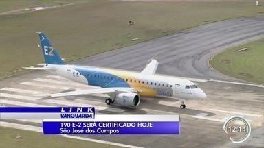 Avião 190-E2 vai receber certificação da Embraer - Com isso, jato pode ser operado comercialmente pelas companhias aéreas.