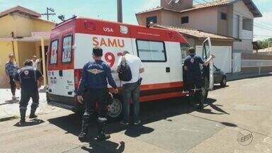 Homem de 45 anos fica ferido após cair de andaime em São Carlos - Acidente aconteceu na manhã desta quarta-feira (28).