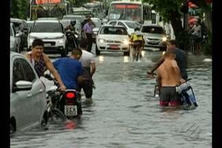 Metereologistas alertam para aumento de 100 mm do previsto em chuvas para março em Belém - Quem mora em áreas que alagam está ainda mais preocupado.