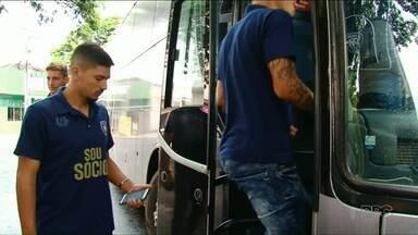 Cianorte já está em Porto Alegre para enfrentar o Internacional - Leão do Vale chegou pela primeira vez na terceira fase da Copa do Brasil