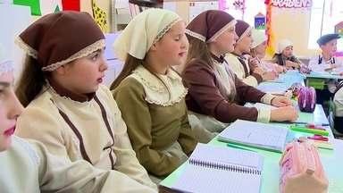 Cultura italiana invade salas de aula do Rio Grande do Sul - Alunos aprendem dialeto Talian