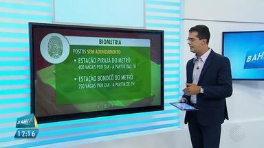 Biometria: agendamento para o recadastramento já pode ser feito - Cerca de 400 mil pessoas não realizaram o recadastramento biométrico em Salvador. Confira as dicas para regularizar seu cadastro.