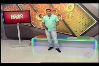Confira o Globo Esporte deste sábado (3) na íntegra - Jogo acontece no Uberabão, neste sábado, às 19h30. Patrocinense foca na vaga das quartas de final em jogo contra Uberlândia pelo Mineiro. URT se prepara para enfrentar o Tombense em casa pelo Mineiro