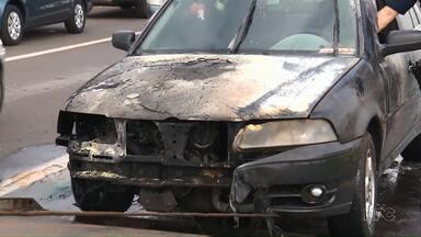 Manutenção ajuda a evitar que veículos fiquem em chamas - Só no primeiro bimestre deste ano foram 14 casos em Maringá