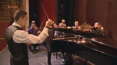 Parte 3: 'Paneiro' realiza sonho de pianista mirim - Acompanhe a história de a história de Victor Lins.