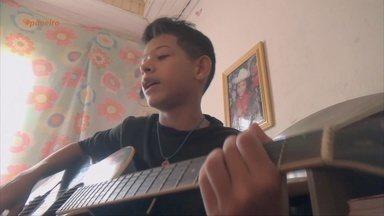 Acompanhe a história de Bruno Reis - Menino já está gravando o primeiro CD.