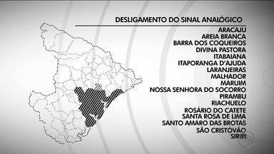 Sinal analógico será desligado em 17 municípios de Sergipe; confira a lista completa - Desligamento da TV analógica está marcado para o dia 30 de maio.
