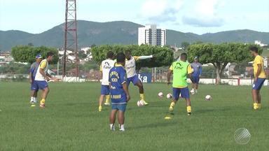 Jequié joga contra o Jacuipense nesse domingo (4) - Times se preparam para o jogo pelo campeonato baiano.