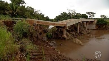 Governador determina vistoria em todas as pontes construídas em MS entre 2010 e 2014 - Decisão ocorre após pelo menos três pontes de concreto construídas nesta época apresentarem problema. O mais recente foi em Jardim.