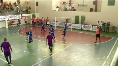 Assista aos gols dos jogos de abertura da Copa Rio Sul de Futsal - Resende x Rio das Flores, Barra do Piraí x Levy Gasparian e Sapucaia x Paulo de Frontin abriram a competição na tarde deste sábado (3).