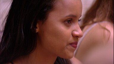 Gleici lamenta: 'A gente é muito ruim de estratégia' - Sister desabafa após votos
