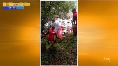 Corpo de homem desaparecido após canoa virar em São Joaquim é encontrado - Corpo de homem desaparecido após canoa virar em São Joaquim é encontrado