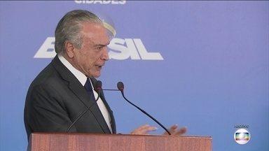 Ministro Barroso determina a quebra do sigilo bancário de Michel Temer - Além de Temer, outros cinco também tiveram o sigilo bancário quebrado, por conta da investigação no inquérito dos portos.