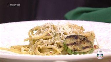 Espaguete com Abobrinha - Aprenda a receita com Ana Maria Braga!