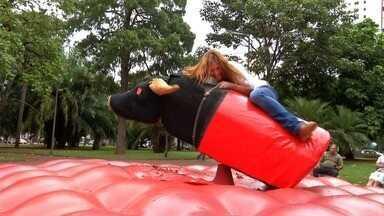 E você, aguentaria ficar 8 segundos em cima de um touro... - E você, aguentaria ficar 8 segundos em cima de um touro...