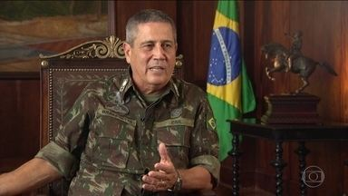 Interventor federal no Rio concede entrevista exclusiva - O general Walter Braga Netto concede entrevista exclusiva pra falar dos desafios da intervenção no estado e diz que a Vila Kennedy é o primeiro passo do plano pra reduzir a violência.