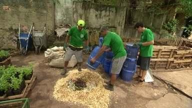 O que você pode fazer hoje pelo amanhã - Ciclo Orgâncio: empresa coleta lixo e transforma em adubo no RJ