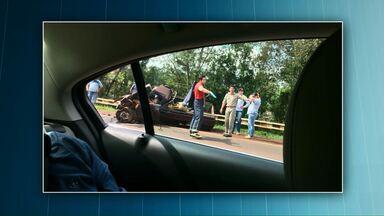 Motorista morre em acidente na BR-369 em Ubiratã - Ele bateu de frente em uma carreta.