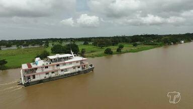 'Nova esperança': viagem inaugural do Navio Abaré em 2018 atende comunidades do Tapará - Navio-hospital está sob a gestão da Ufopa desde 2017. Embarcação voltará a atender 75 comunidades ribeirinhas de Santarém, Aveiro e Belterra.