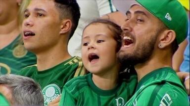 Palmeiras vence o clássico com o São Paulo - Palmeiras vence o clássico com o São Paulo