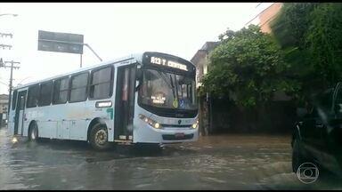 Chuva forte continua em parte do sudeste e do norte do Brasil - Acumulados podem passar dos 80mm em cidades do ES.