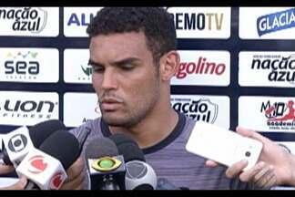 Jogadores azulinos vivem expectativa do clássico Re-Pa - Técnico Givanildo Oliveira esboça time que enfrentará o Paysandu. Goleiro Vinicius jogará a sua segunda partida contra o maior rival