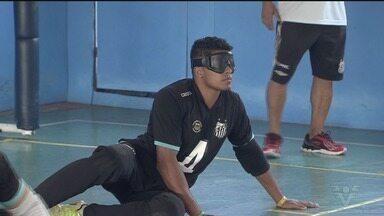 Equipes de Santos disputam o Regional Sudeste Dois de Goalball - A competição acontece até domingo (11) no Centro de Treinamento Paralímpico em São Paulo.