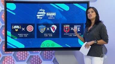 GE.com/ba traz os jogos da 2º divisão do Baianão; vote no gol mais bonito do campeonato - Mais informações você encontra no site: Globoesporte.com/ba.
