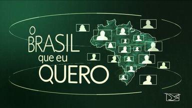 Que país você quer para o Futuro? Veja como gravar seu vídeo - Projeto da Rede Globo vai transmitir nos telejornais os desejos dos brasileiros para o futuro do país. Confira como gravar a mensagem com o celular.