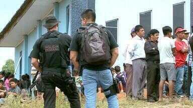 MPF pede apoio à Polícia Federal e Brigada Militar em reserva indígena de Votouro no RS - Vitor Hugo dos Santos Refey, que morreu durante o conflito, foi velado na manhã desta sexta-feira (9). Polícia Federal já investiga o caso.