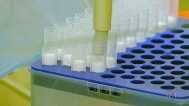 Vacina contra o câncer de mama começa a ser testada em pacientes da região - Uma vacina contra o câncer de mama já começou a ser testada em pacientes da região. Os efeitos dessa vacina estão sendo discutidos em um congresso de oncologia que está sendo realizado em Rio Preto (SP).