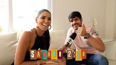 Chamada: Lucas Fernandes fala tudo sobre BBB18 neste sábado (10) - Niara Meireles conversa com cearense