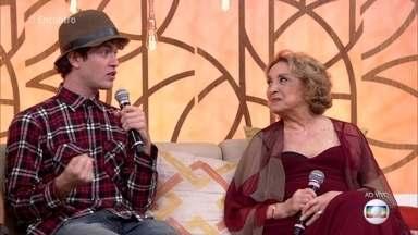 Eva Wilma e Vitor Thiré relembram histórias de Tônia Carrero - Atriz foi uma grande amiga da bisavó de Vitor