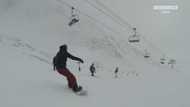 Snowboard Na França