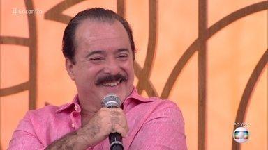 Tony Ramos comenta reta final de 'Tempo de Amar' - Novela marcou reencontro de Tony e Regina Duarte