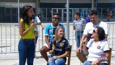 Torcedoras de São Luiz e Brasil de Pelotas falam sobre expectativas para quartas de final - Assista ao vídeo.